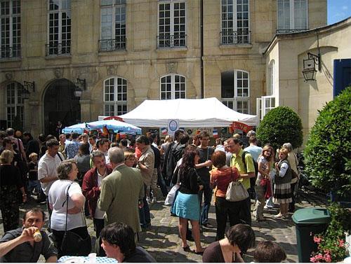 Sommerfest à la Maison de L'europe Juin 2007