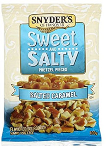 Snyder's Pretzel Pieces (Sweet & Salty Salted Caramel) 100g
