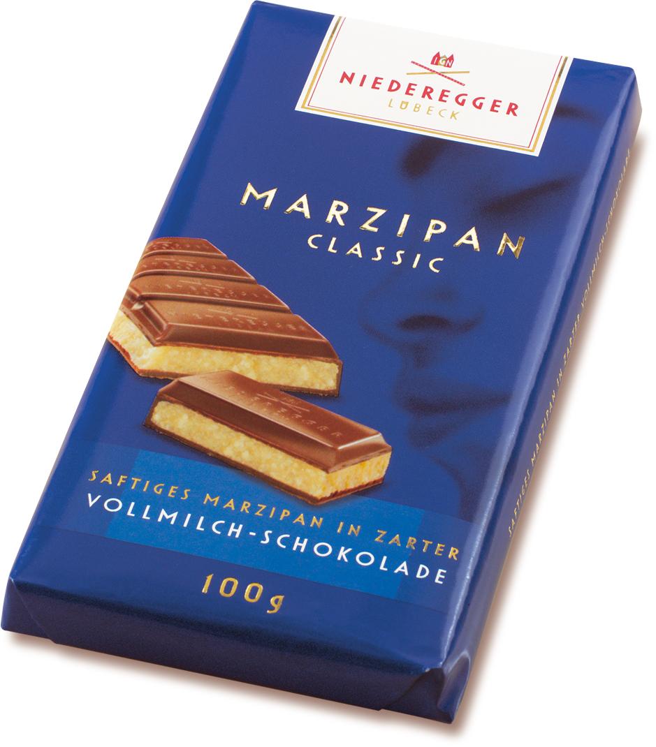 Niederegger Marzipan Tafel Classic Vollmilch (100g)