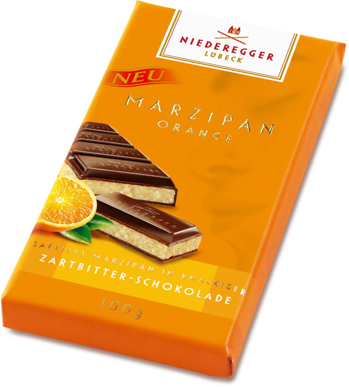 Niederegger Marzipan Tafel Orange (100g)