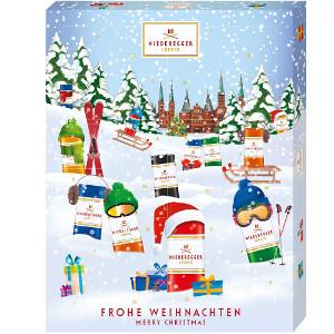 Niederegger Adventskalender Winter-Klassiker 300g