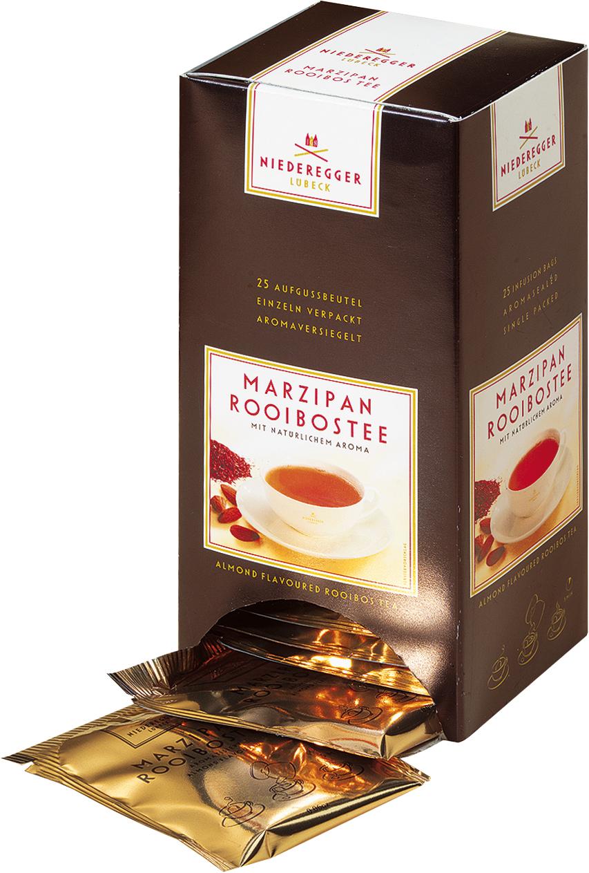 Niederegger Marzipan Rooibos Tee 43,75g für 25er x 1,75g