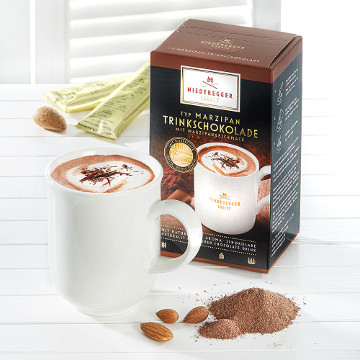 Niederegger Marzipan Trinkschokolade 250g für 10er x 25g
