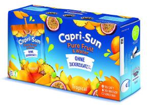 Capri-Sonne Pure Fruit & Water (Tropical) 10 stück x 200ml