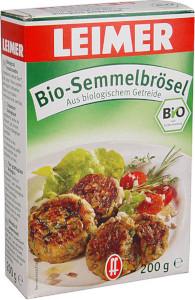 2- Leimer Bio-Semmelbrösel 200g