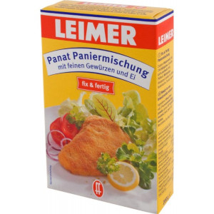 Leimer Panat Paniermischung (mit feinen Gewürzen und Ei) 200g