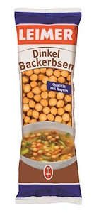 Leimer Dinkel Backerbsen 100g