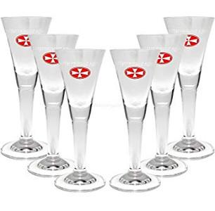 Malteserkreutz Aquavit Gläser