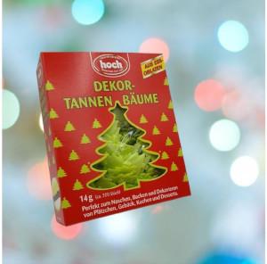 Hoch Dekor-Tannenbäume 14g für 200 Stück