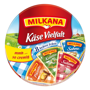 Milkana Käse Vielfalt 8 x 25g