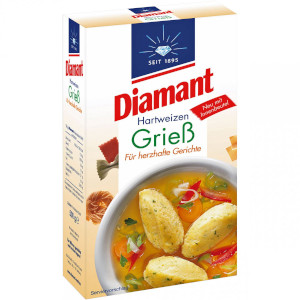 4- Diamant Hartweizen Griess 500g