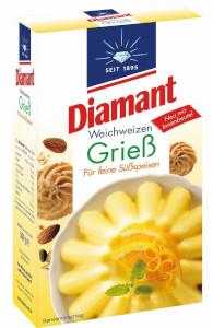 4- Diamant Weichweizen Griess 500g