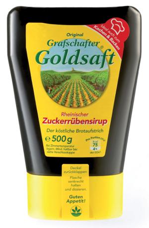 Grafschafter Goldsaft Zuckerrübensirup 100% Zucker-Rübe 500g