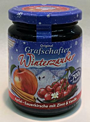 Grafschafter Winterzauber Apfel-Sauerkirsche mit Zimt & Vanille 320g