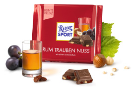 Ritter Sport Rum Trauben Nuss (100g)