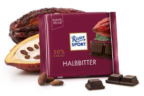 Ritter Sport Halbbitter 50% (100g)