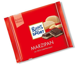 5- Ritter Sport Marzipan 100g