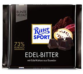 Ritter Sport: Edel-Bitter 73% Kakao (100g)