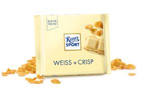Ritter Sport Weiss + Crisp 100g