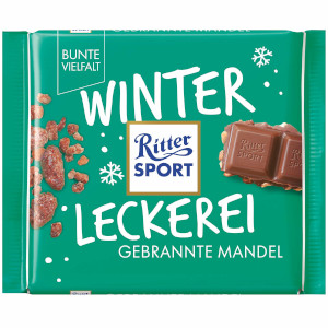 Ritter Sport Winter Kreation Gebrannte Mandel (100g)