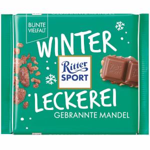 Ritter Sport Winter Kreation Gebrannte Mandel (100g)