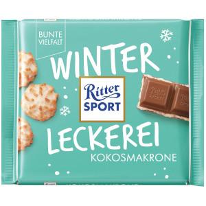 4- Ritter Sport Winterleckerei Kokosmakrone 100g