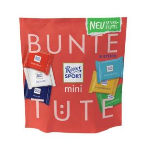 Ritter Sport Mini Bunter Vielfalt (Bunte Tüte) 150g für 9 Stück
