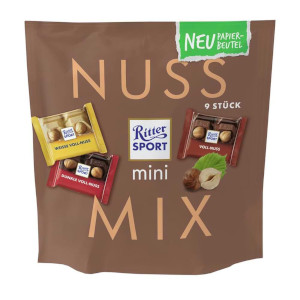 Ritter Sport Mini Nuss Mix 150g für 9 Stück