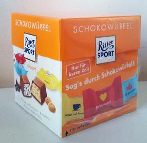 Ritter Sport Schokowürfel dessert 176g