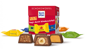 Ritter Sport Schokowürfel Vielfalt 176g