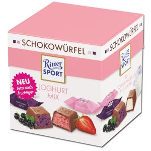 Ritter Sport Schokowürfel Joghurt Mix 176g für 22 Stück