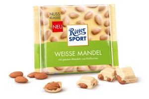 Ritter Sport Weisse Mandel 100g