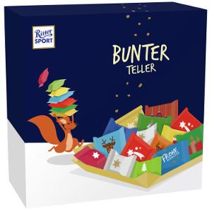Ritter Sport Bunter Teller 230g für 19 Stück