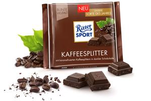 6- Ritter Sport Kaffeesplitter 100g