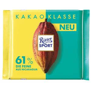 4- Ritter Sport Kakao Klasse 61% 100g