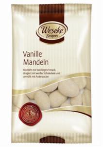 Weseke Dragees Vanille Mandeln 200g