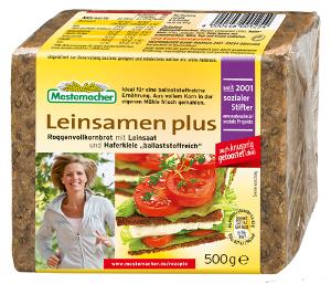 Mestemacher Leinsamen Plus 500g