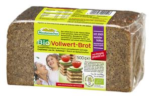Mestemacher Bio Vollwert-Brot 500g