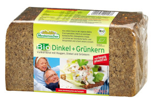 Mestemacher Bio Dinkel + Grünkern (500g)