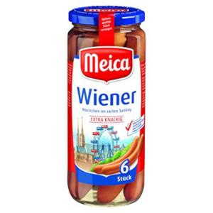 Meica Wiener Würstchen 540g für 6 Stück