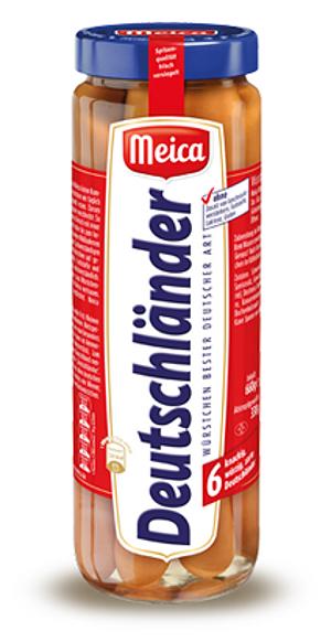 Meica Deutschländer 660g für 6 Stück