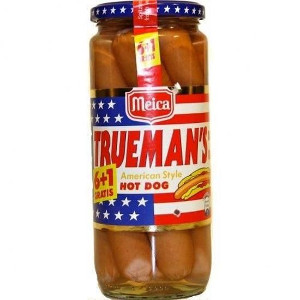 Meica Trueman's Hot Dog American Style (540g./350g.)