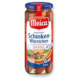 Meica Schinkenwürstchen 540g für  6 Stück