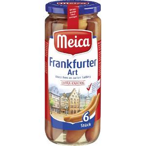 Meica Frankfurter Art 540g für 6 Stück