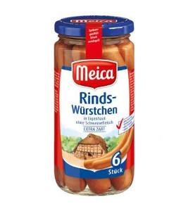 Meica Rinds-Würstchen 380g für 6 Stück