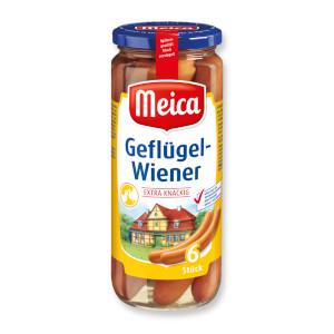 Meica Geflügel-Wiener 540g für  6 Stück