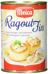 Meica Ragout Fin Zartes Geglügel- Und Kalbfleisch 400g