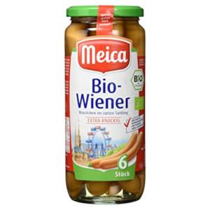 3- Meica Bio-Wiener Bio 540g für 6 Stück