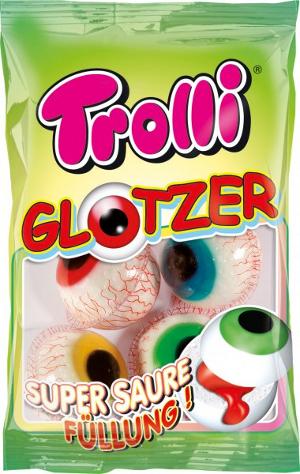 Trolli Glotzer mit saurer Füllung 75g für 4 Stück