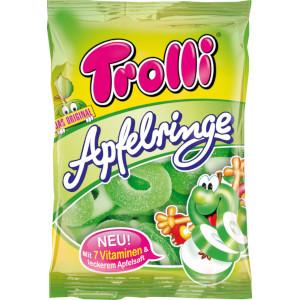 Trolli Saure Apfelringe Gummibonbons 200g